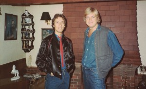 With Justin Hayward