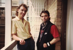 With Nils Lofgren