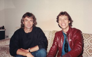 With Rick Wright