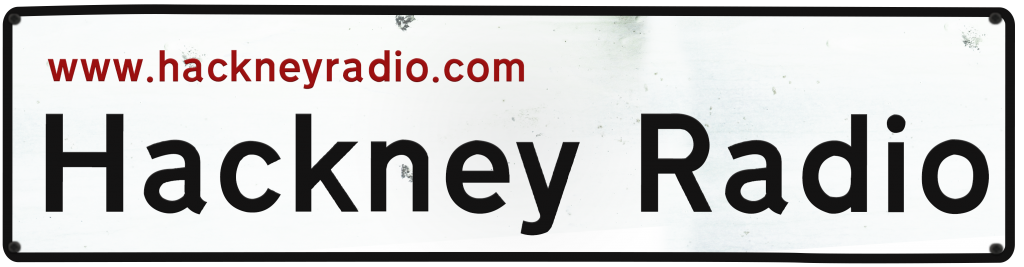 Hackney Radio road sign logo